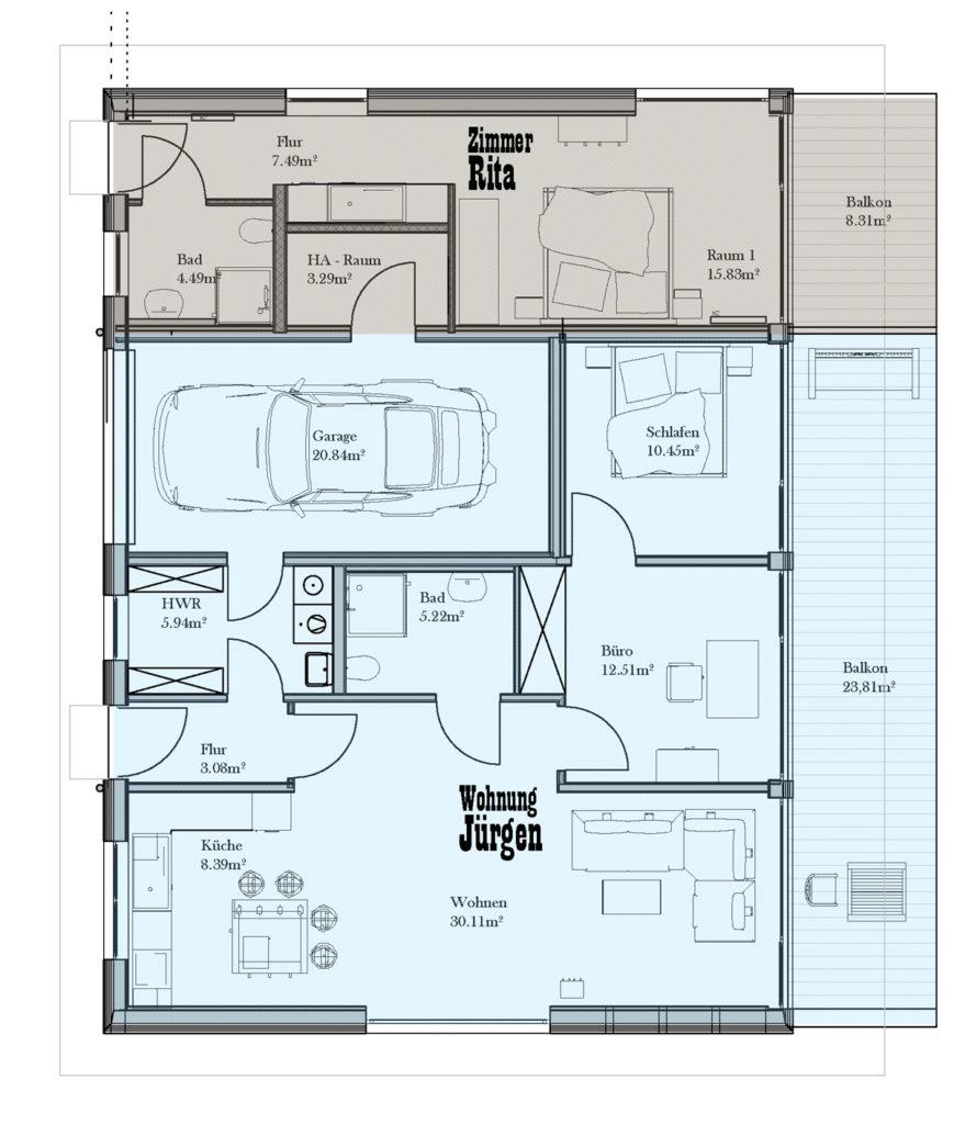 Grundriss Haus 03: TEXAS