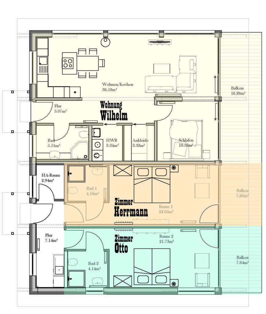 Grundriss Haus 01: WYOMING