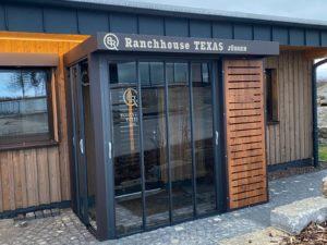 RANCH HOUSE TEXAS, Eingang zur Wohnung Jürgen